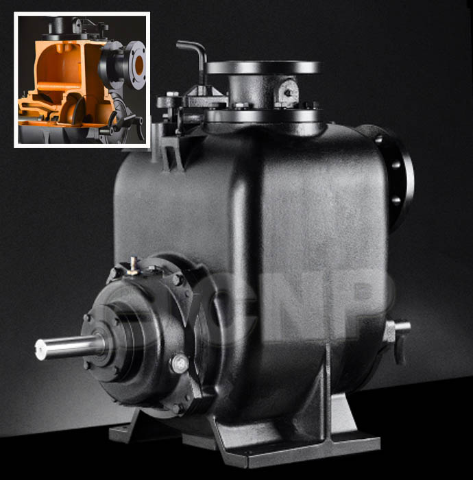 SP  Non-clogging self-priming sewage pump